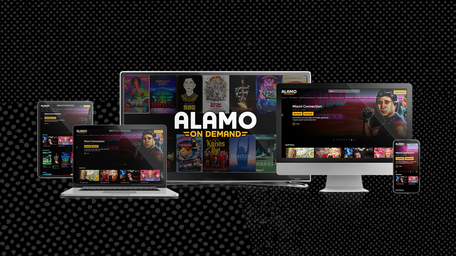 Alamo Drafthouse now has its own curated VOD platform, Alamo On Demand