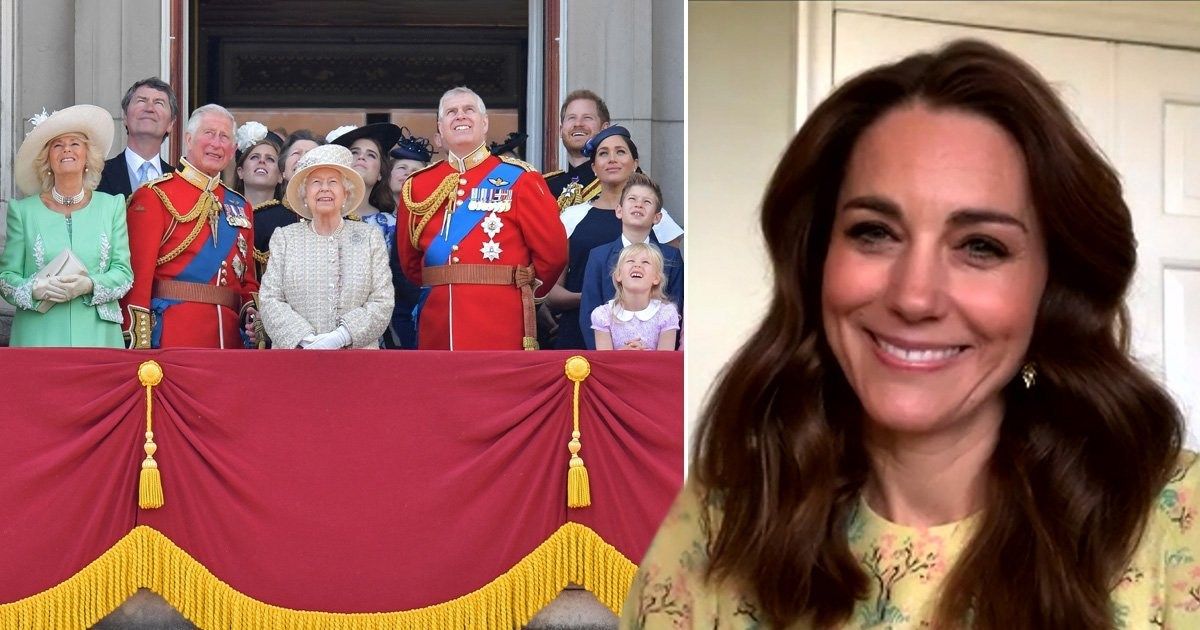 Kate Middleton says she checks in daily with Royal Family during lockdown