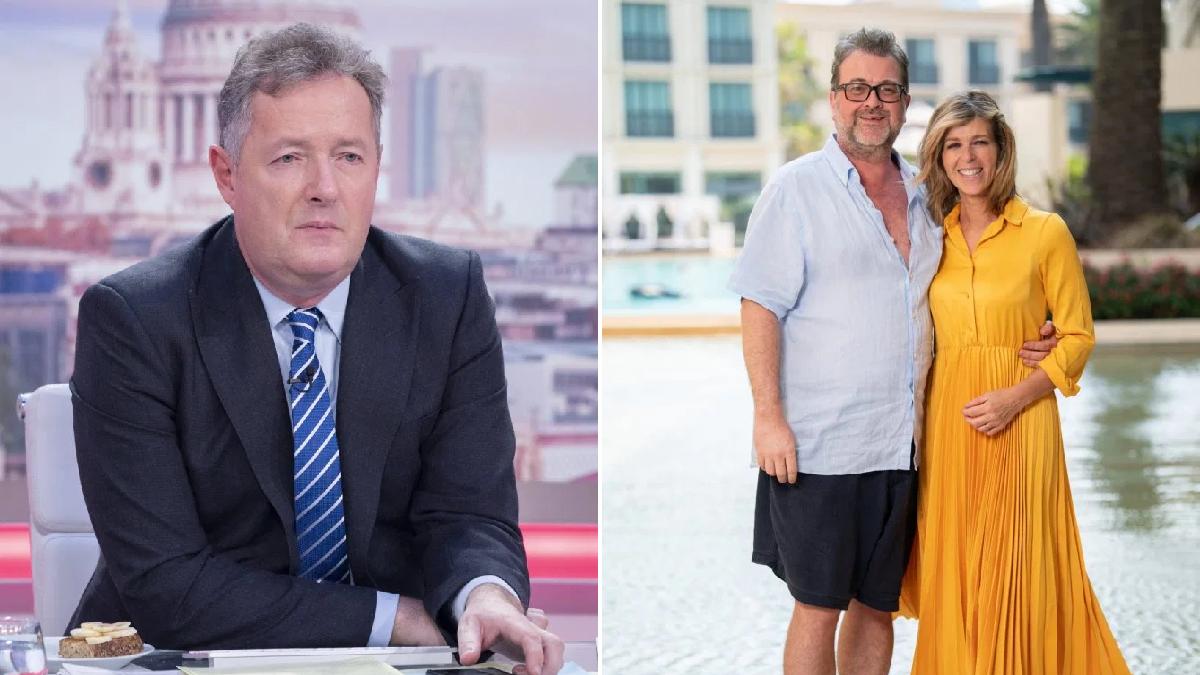 Piers Morgan reminds critics Kate Garraway's husband is 'fighting for his life' as he slams coronavirus complacency