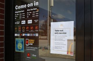 Cops: McDonald's Workers Shot Over Virus-Closed Dining Area