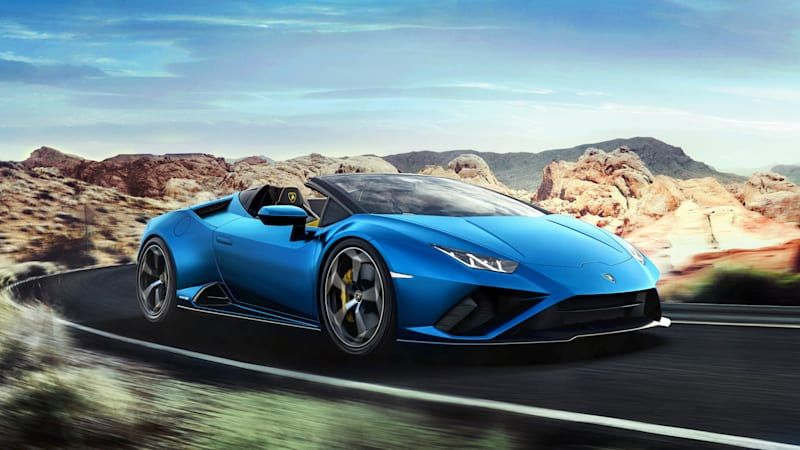 Lamborghini turns the Huracán EVO into a tail-wagging rear-wheel-drive roadster