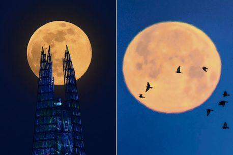 Super Flower Moon will appear tonight - what time to see the final supermoon of 2020