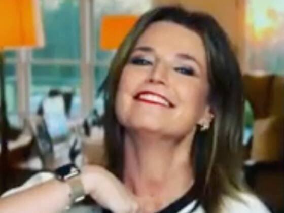 Watch Savannah Guthrie Recover Like a Pro After Hilarious Microphone Mishap on Today