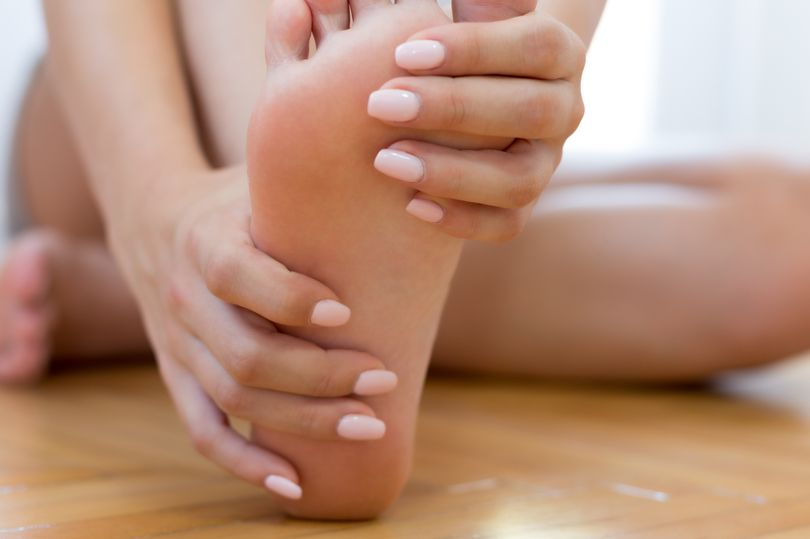 Woman can't wear shoes or go for a run because of her extra long toenails
