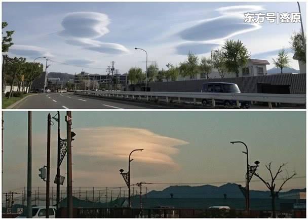北海道上空出现罕见怪云网民担心是地震先兆,专家:自然现象!