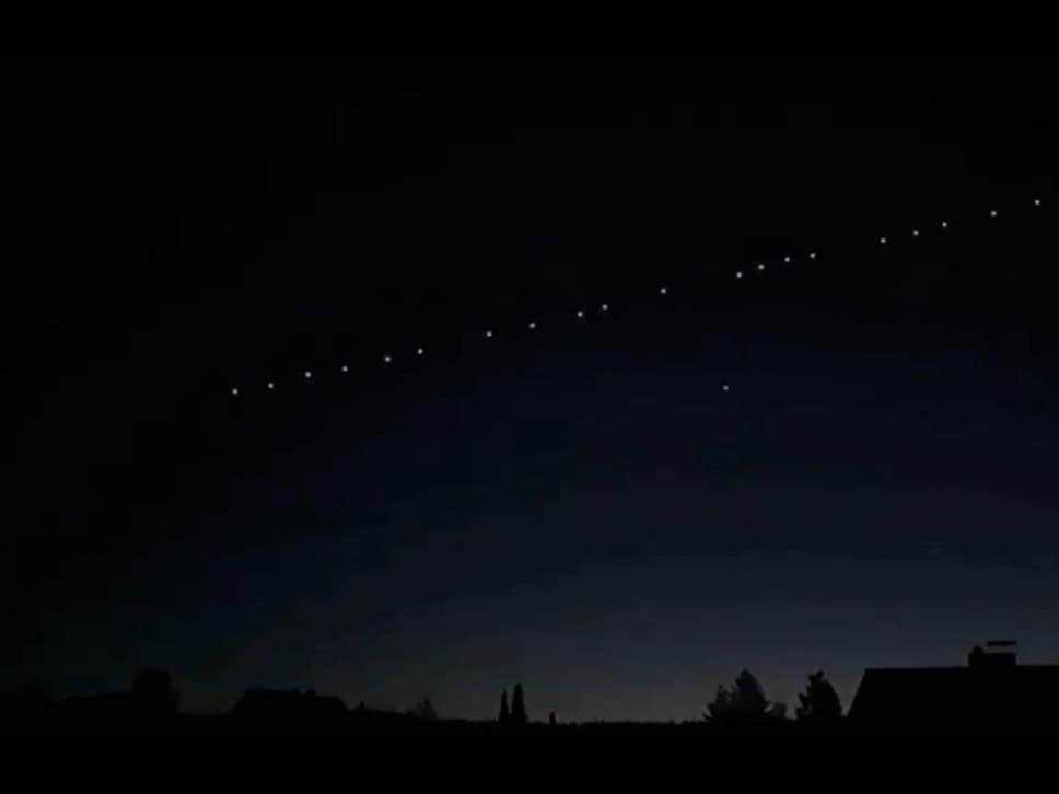 Elon Musk's Starlink satellites set for double pass over UK tonight