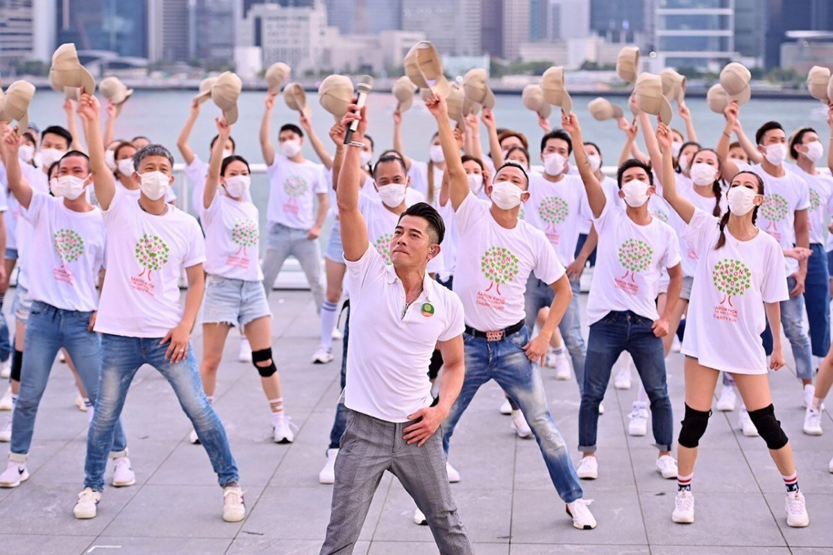 Hong Kong Canto-pop star Aaron Kwok's online charity concert draws about 2 million viewers, raising more than HK$1 million