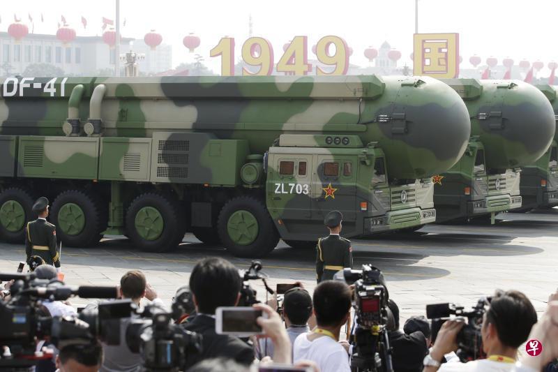 《环时》称中国核弹须增至千枚 以抑制美战略野心