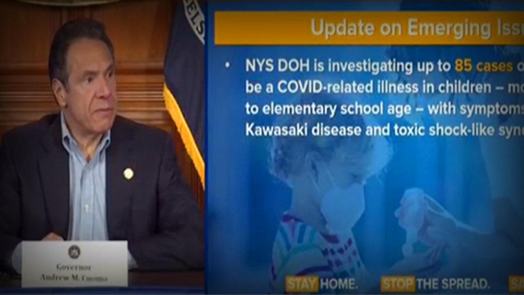 纽约州85名儿童感染不明综合征 已致3名儿童死亡
