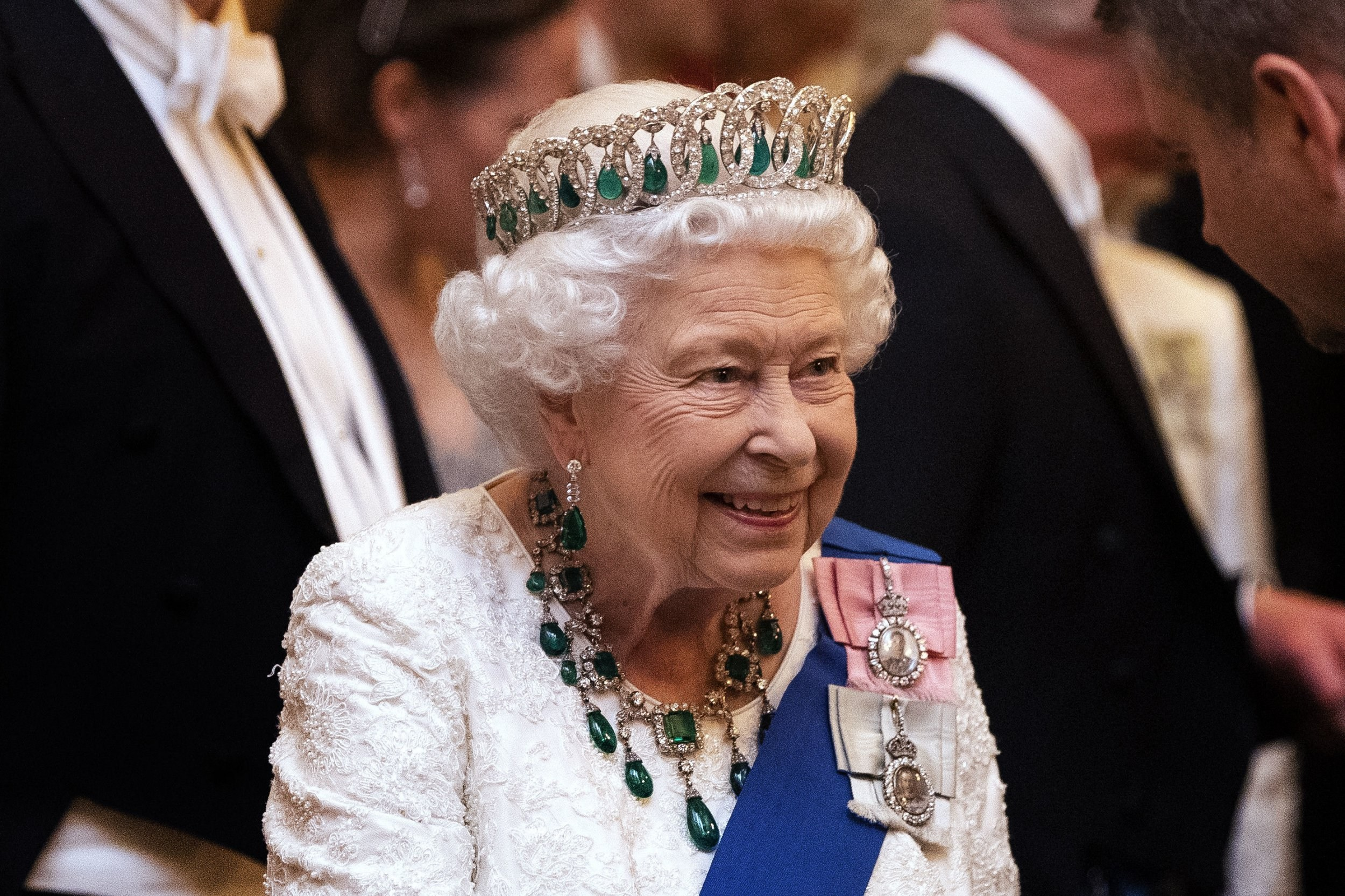 Queen 'busy' at Windsor amid claim she could withdraw from public for months