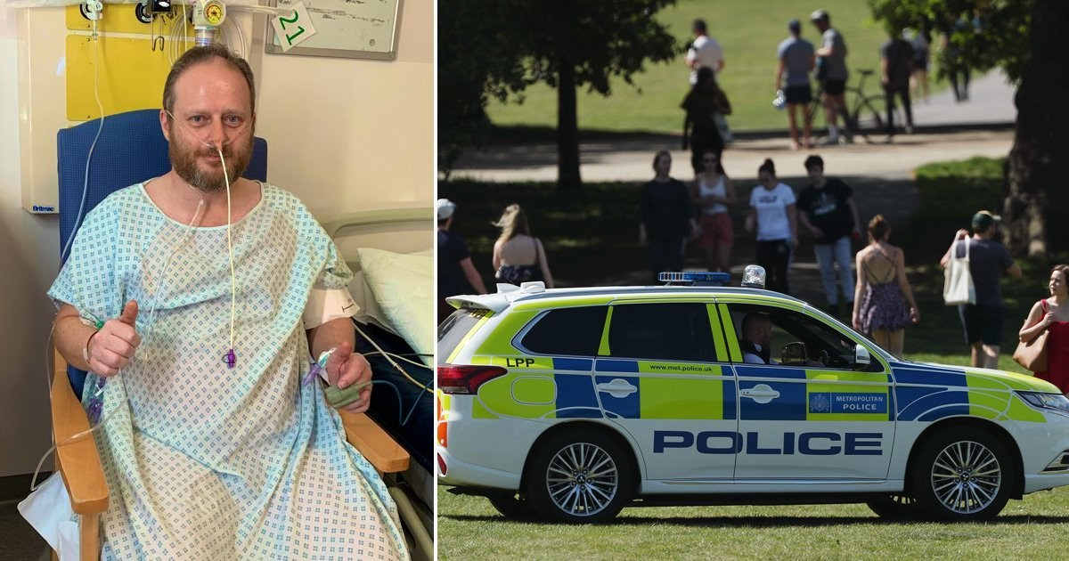 Police chief who nearly died from coronavirus slams lockdown breakers
