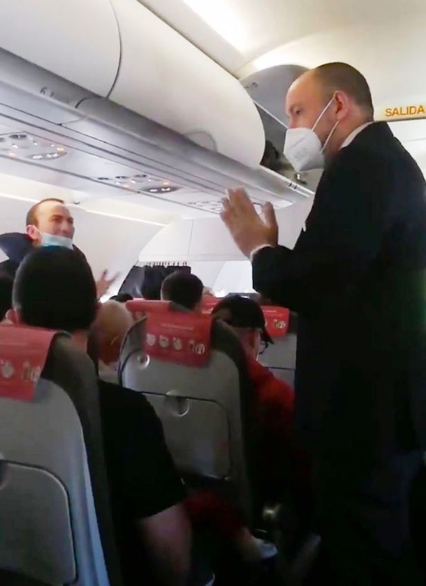Carnage erupts on flight after 'corona air rage' sparked by lack of social distancing