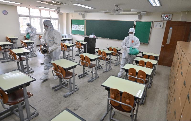 韩国增27名冠病患者‧学校推迟复课时间