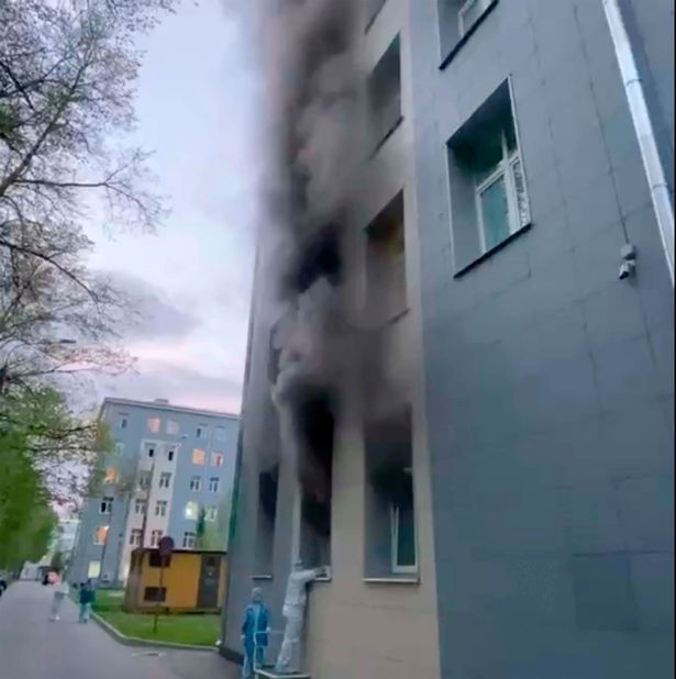 Five coronavirus patients on intensive care unit killed in St Petersburg hospital fire