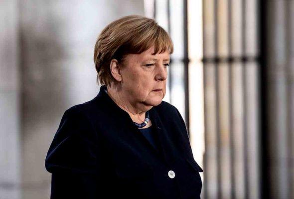 Merkel CRISIS: Fury erupts on the 'chaotic' streets of Germany over coronavirus lockdown