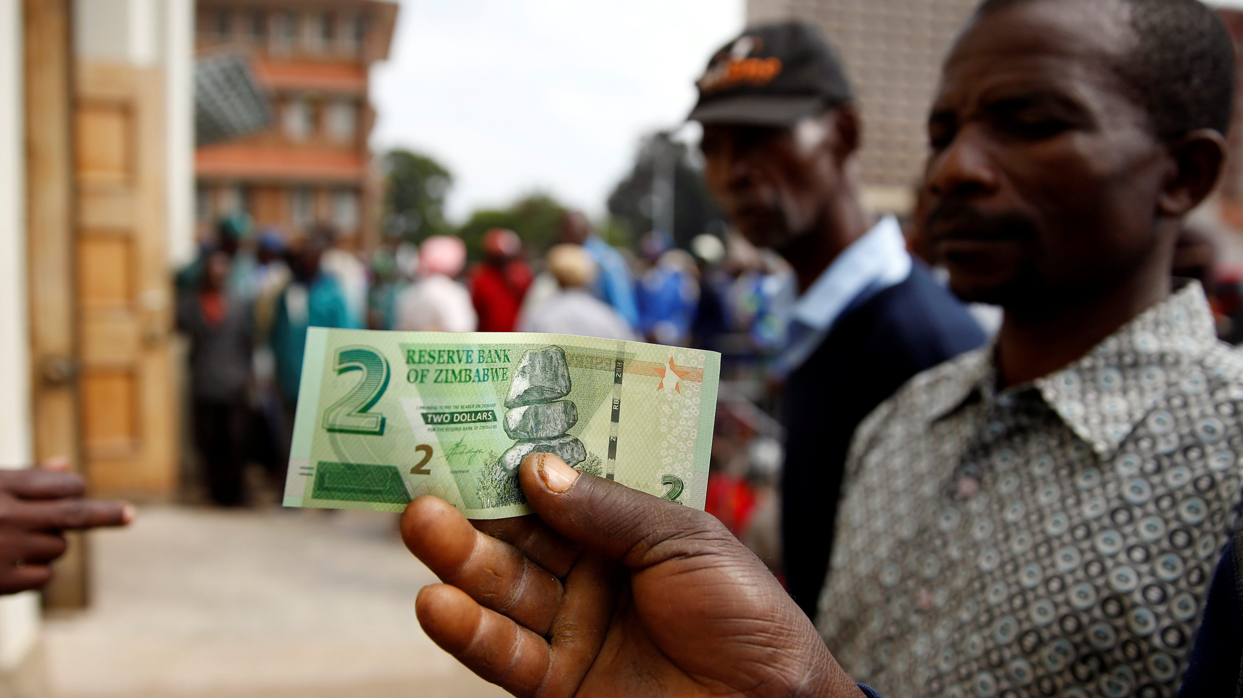 Zimbabwe's central bank says the dominant mobile money platform is running a Ponzi scheme