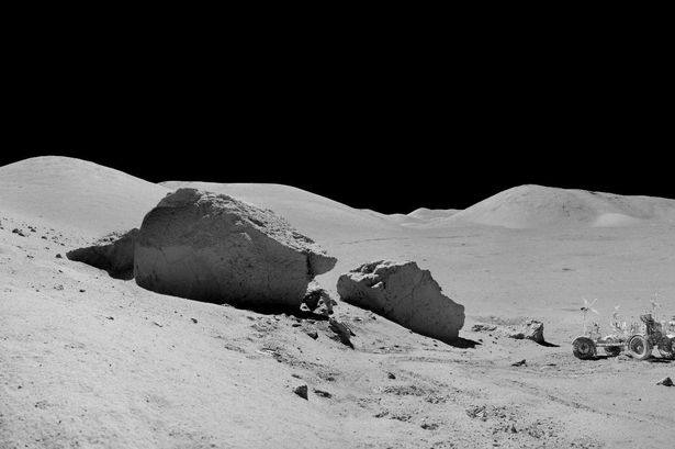 Moon's surface was formed by asteroid or meteor hits, scientists find