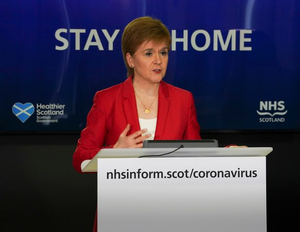 Nicola Sturgeon warns Scots that lockdown changes cannot 'be made safely yet'