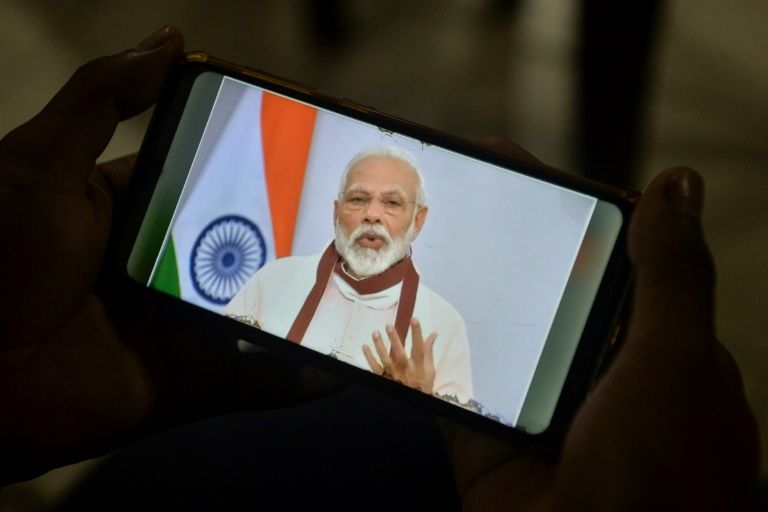 India PM announces relief package to boost virus-hit economy