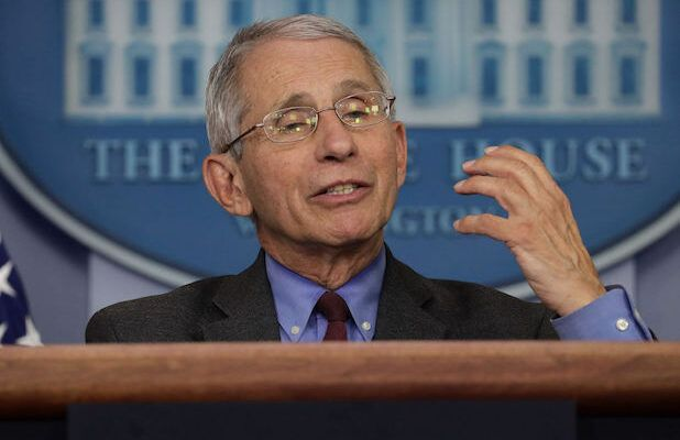 Anthony Fauci Warns States: Reopening Too Early Could 'Trigger an Outbreak You May Not Be Able to Control'