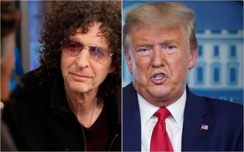 Howard stern tells trump voters what the President really thinks of them