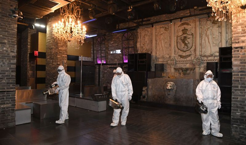 South Korea sticks with virus lockdown rollback despite nightclub outbreak