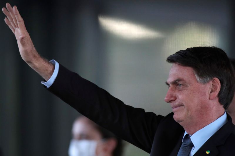 On tape, bolsonaro cites protecting his family in push to swap top rio cop - source