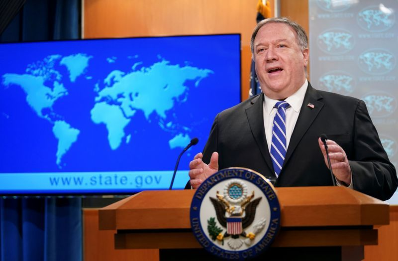 China says Pompeo's congratulations to Taiwan seriously damaged relations