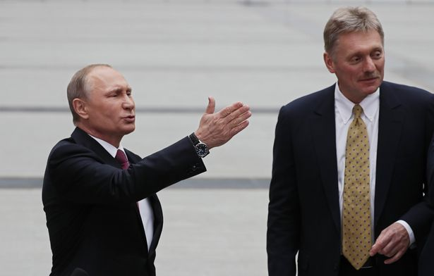 Vladimir Putin's 'highly trusted' spokesman in hospital with coronavirus