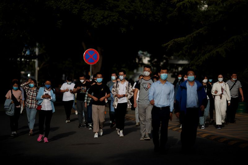 Slowly but steady, China strives to make widespread virus testing the new normal