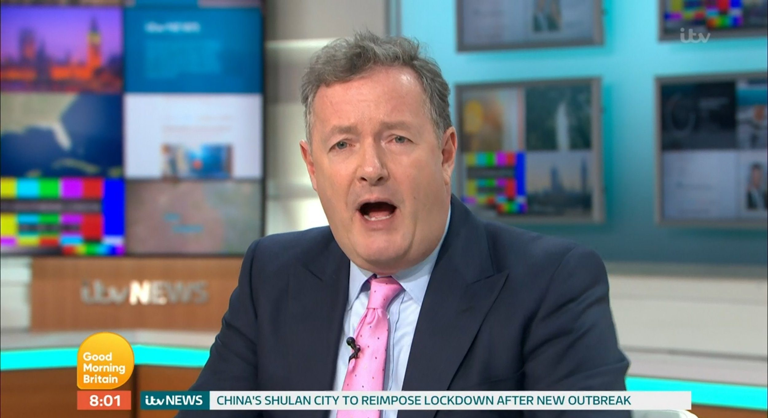 Piers Morgan hits back at troll who wished him dead after he tested negative for coronavirus