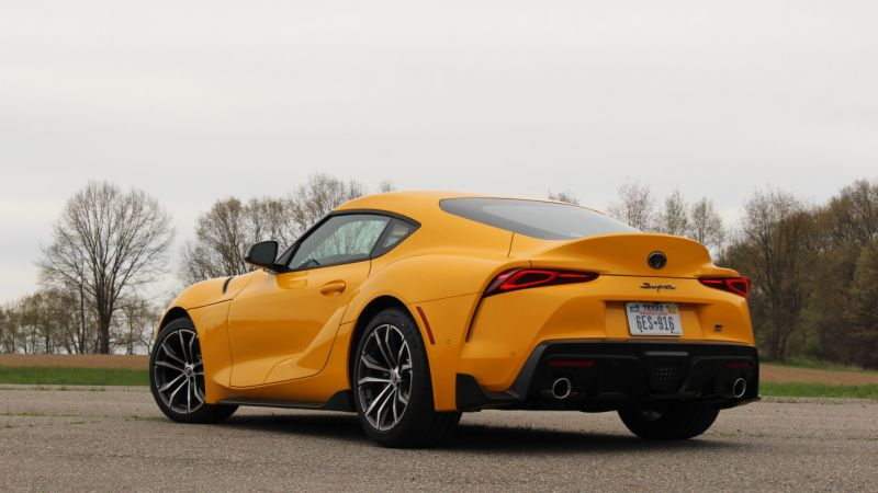 2021 Toyota GR Supra 2.0 vs 3.0 exhaust video   Hear the difference
