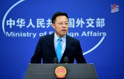 """外媒求证""""中国政府准备惩戒对华滥诉的实体和个人"""",赵立坚回应"""
