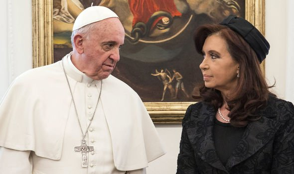 Falklands shock: How Pope Francis 'helped Cristina Kirchner back into power'