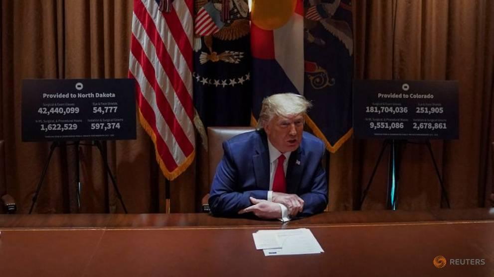 Trump mobilising US military to deliver COVID-19 vaccine