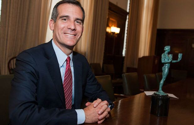 LA Mayor Eric Garcetti Warns City Won't 'Completely Open Until We Have a Cure' (Video)