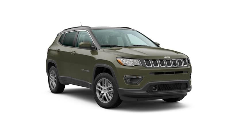 2020 Jeep Compass Latitude Sun & Safety Package exactly what it says