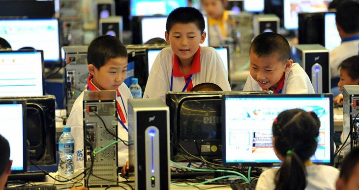 93% of Chinese minors are now online