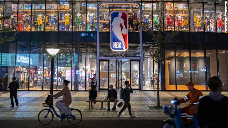 NBA has a new CEO in China. His first task is to make up with Beijing