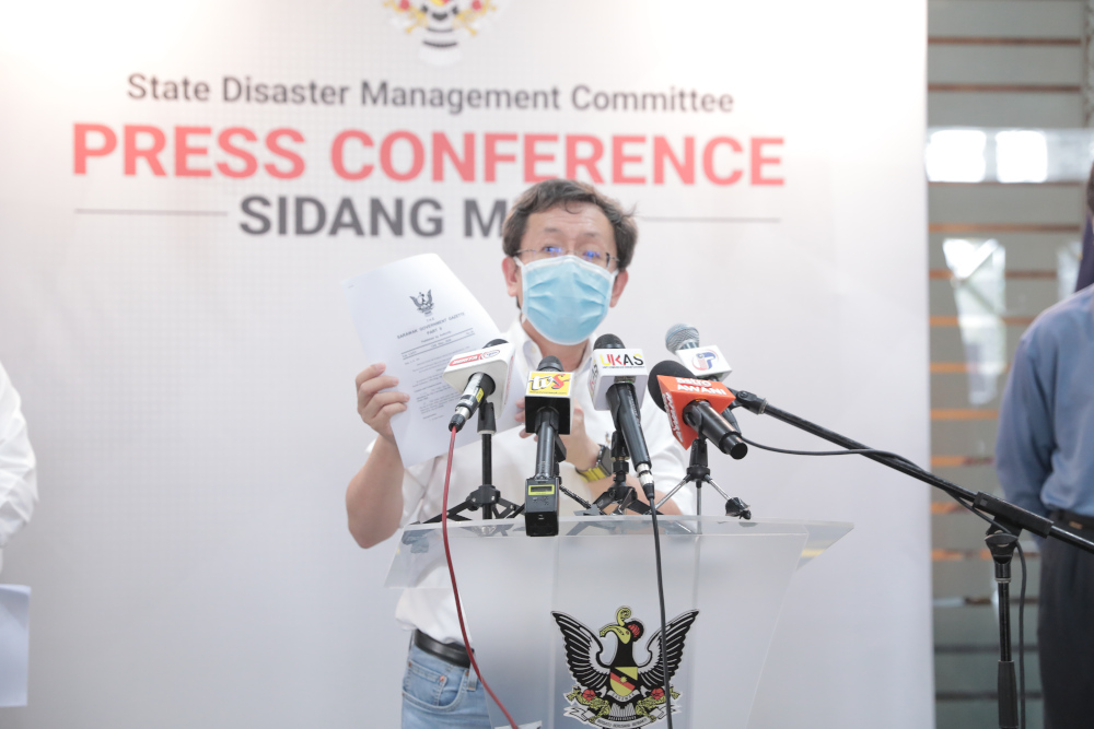 Dr Sim: All I want for Christmas is for Sarawakians to stay home to curb spread of Covid-19