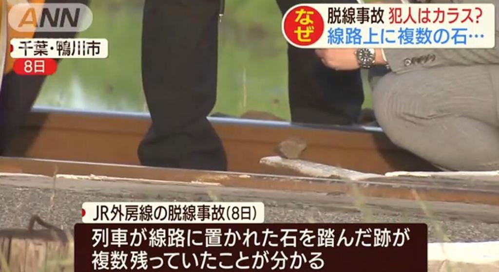 在铁轨放石块引发列车脱轨 日本小学生承认犯案:在做实验