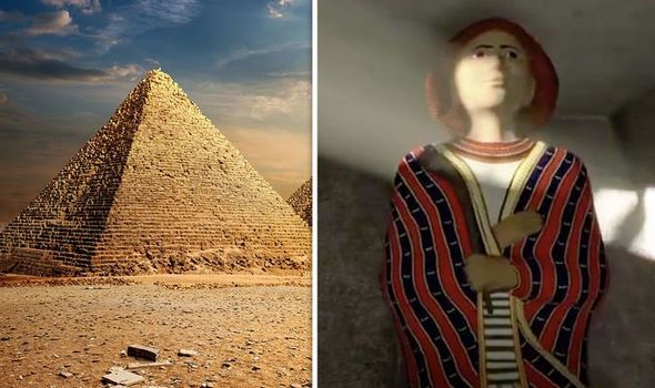 'Matches the Bible!' Why multicoloured coat discovered in Egypt tomb 'could be Joseph's'