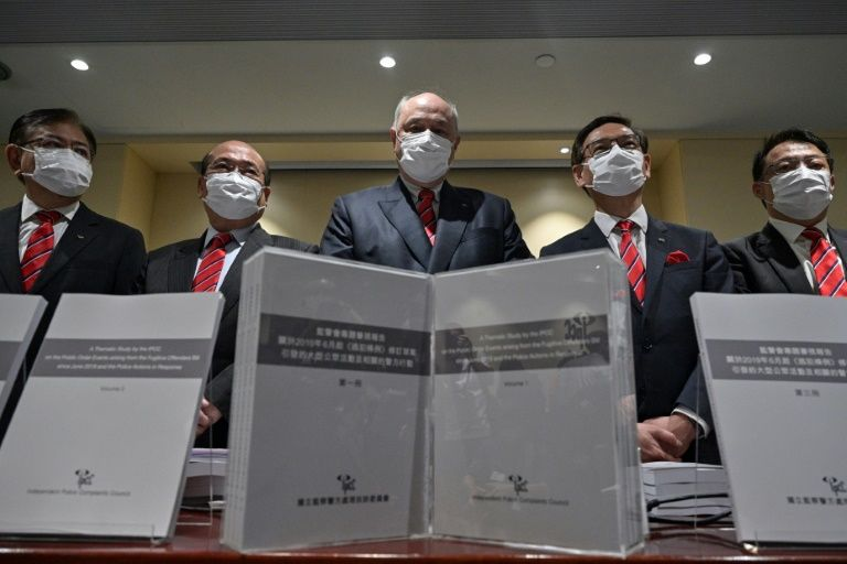 Hong Kong police watchdog clears force over protest response