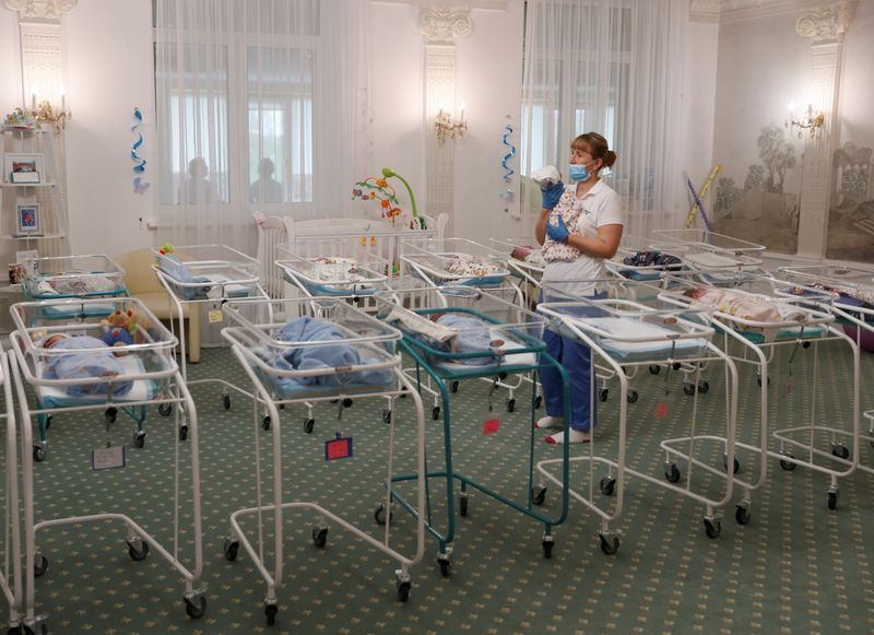 Ukrainian surrogate babies bound for u.S., Europe stranded by virus lockdown