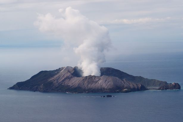 Teen tour guide's horrifying injuries after being caught up in exploding volcano