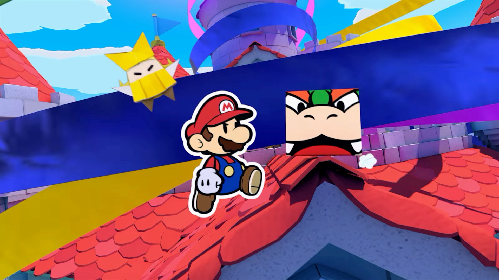 New Paper Mario coming to Nintendo Switch in July