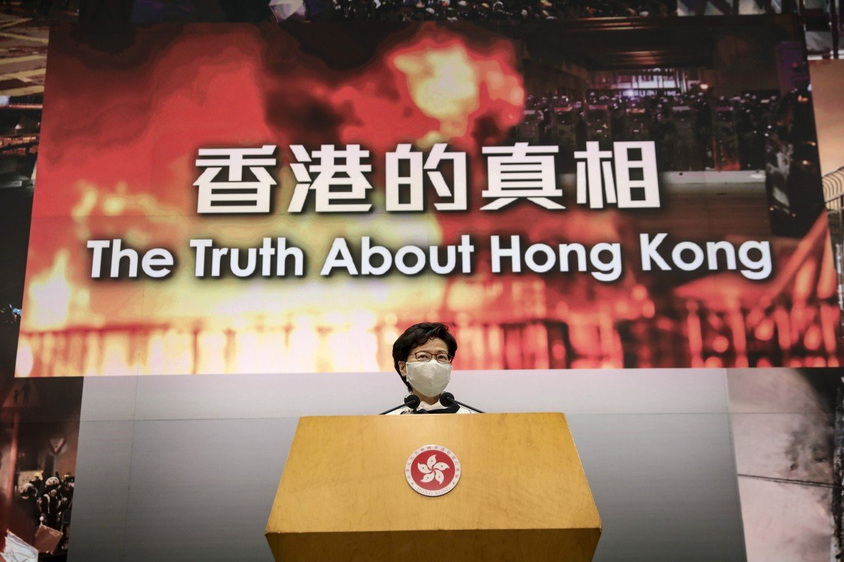 Hong Kong protests: city leader Carrie Lam shelves independent review into what caused unrest