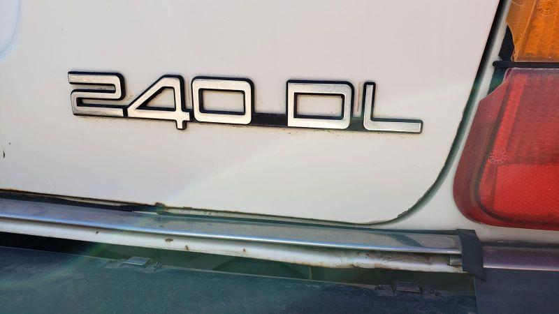 Junkyard Gem: 1987 Volvo 240 DL Wagon