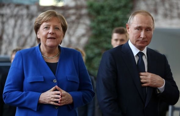 Angela Merkel cites 'hard evidence' she was target of Russian hacking