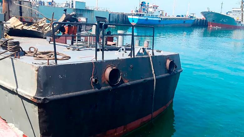 Iran naval exercise accident kills 19 sailors